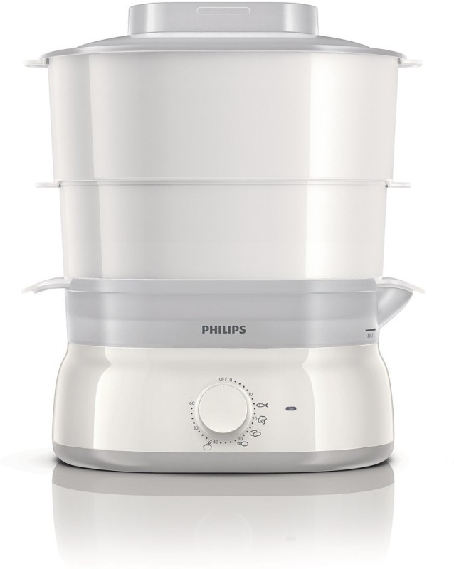 Philips Steamer HD9103 Food Steamer(5 L, White)