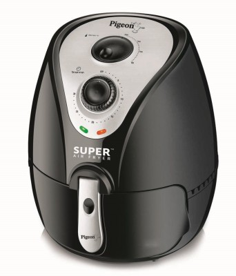 Pigeon Super Air Fryer(2.2 L, Black)