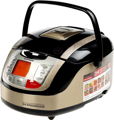 REDMOND RMC-M4502E, Digital smart multicooker Rice Cooker, Deep Fryer, Slow Cooker, Food Steamer
