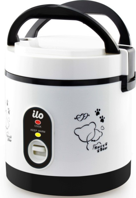 Ilo IHRC2001 Travel Cooker, Rice Cooker(0.6 L, Black)