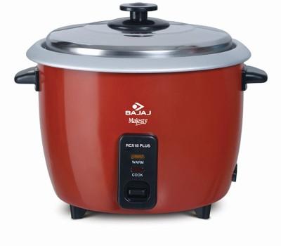 Bajaj Rcx 18 Plus Multifunction Electric Rice Cooker(1.8 L, Red)