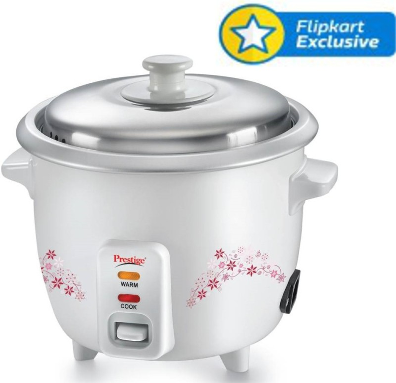 Prestige Delight PRWO - 1.5 Electric Rice Cooker with Steaming...