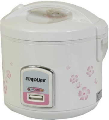 Euroline 28DX Electric Rice Cooker with Steaming Feature
