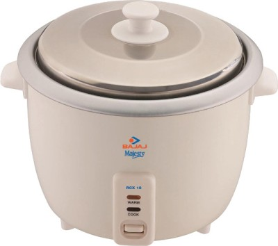 Bajaj Majesty RCX 18 Electric Rice Cooker