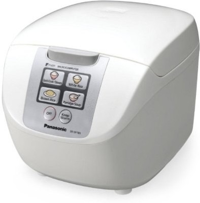 Panasonic SR-DF181 Electric Rice Cooker with Steaming Feature