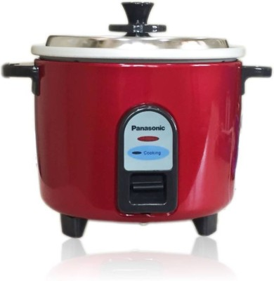 Panasonic SR-WA10(Z9) Electric Rice Cooker(2.7 L, Burgandy)