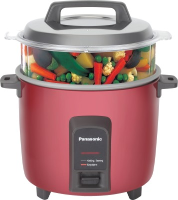 Panasonic SR-Y22FHS Electric Rice Cooker with Steaming Feature