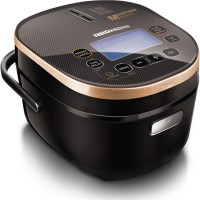 REDMOND RMC-250E Rice Cooker, Air Fryer, Food Steamer, Slow Cooker, Egg Cooker, Deep Fryer, Egg Boiler(4 L, Black) best price on Flipkart @ Rs. 13800