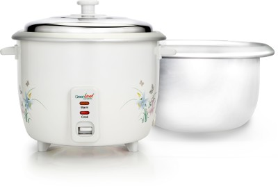 Greenchef RC01 Electric Rice Cooker(1.8 L, White)