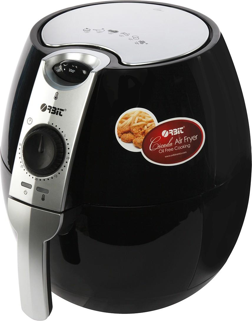 Orbit Cicada Air Fryer(3.2 L, Black)