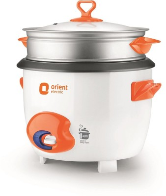 Orient RC1805D Electric Rice Cooker with Steaming Feature
