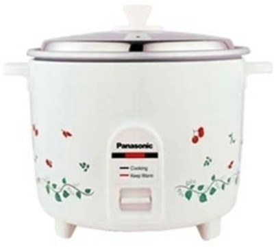Panasonic SR WA 18HK Electric Rice Cooker(1.8 L, White)