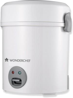 Wonderchef Mini Electric Rice Cooker(0.5 L, Silver)