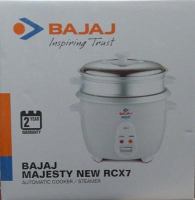Bajaj Majesty New Rcx7 Multifunction / Steamer Electric Rice Cooker