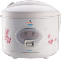 Bajaj Majesty RCX21 Electric Rice Cooker with Steaming Feature(1.8 L)