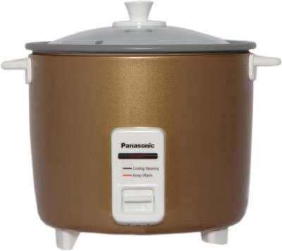 Panasonic SR WA 22H TT Electric Rice Cooker with Steaming Feature