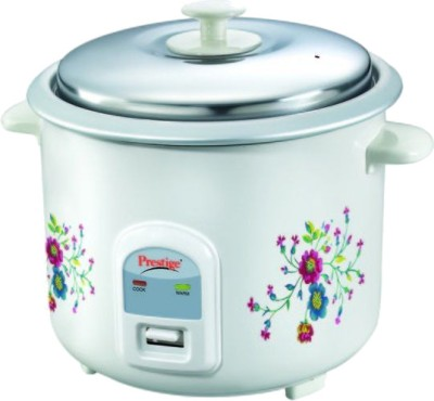 Prestige PRWO 2.2-2 Electric Rice Cooker with Steaming Feature(2.2 L)