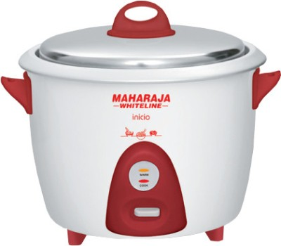 Maharaja Whiteline RC 100 Electric Rice Cooker(1.8 L)