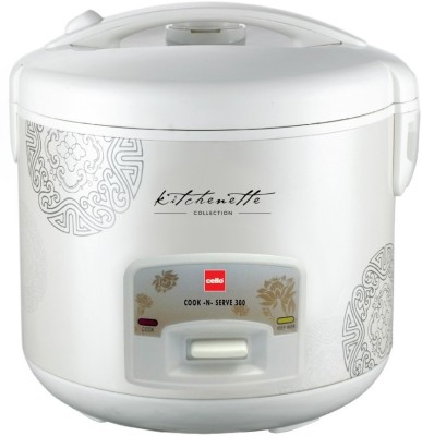 Cello Cook - N - Serve 300 Electric Rice Cooker