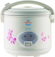 Bajaj Majesty RCX28 Deluxe Multifunction Electric Rice Cooker(2.8 L, White)