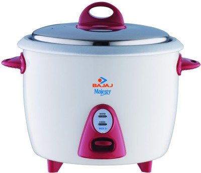 Bajaj RCX 3 Electric Rice Cooker(1.5 L, White)