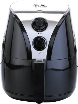 iHome 25698 Air Fryer(2 L, Black, Silver)