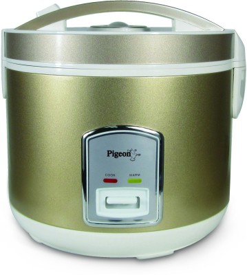 Pigeon glorious 1.8 Electric Rice Cooker with Steaming Feature