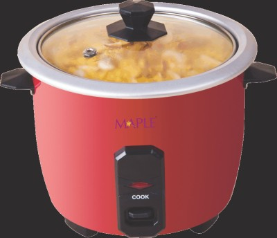 Maple Lilliput Electric Rice Cooker(0.4 L, Red)