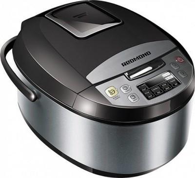 REDMOND RMC-M4500E black, Digital smart multicooker Rice Cooker, Deep Fryer, Slow Cooker, Food Steamer