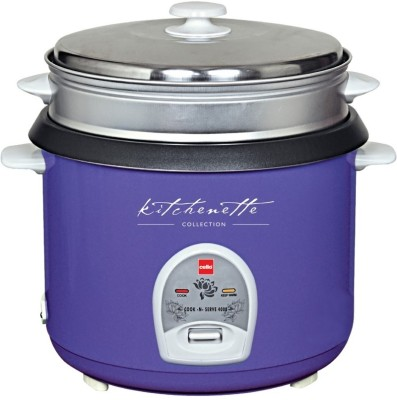 Cello Cook - N - Serve 400 B Electric Rice Cooker(2.8 L, Purple)