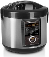 REDMOND RMC-M23E Rice Cooker, Food Steamer, Slow Cooker, Egg Cooker, Deep Fryer, Egg Boiler(5 L, Black, Metallic) best price on Flipkart @ Rs. 9300