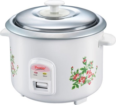 Prestige PRWO 1.4-2 Electric Rice Cooker with Steaming Feature