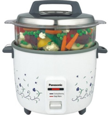 Panasonic SR WA 18 FHS Electric Rice Cooker with Steaming Feature