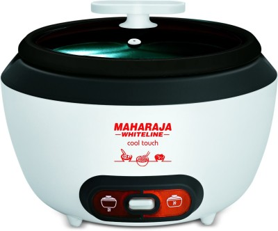 Maharaja Whiteline Cool Touch Electric Rice Cooker