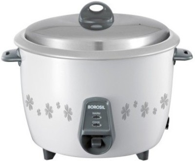 Borosil BRC18MPC21 Electric Rice Cooker with Steaming Feature