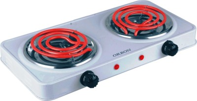 ORBON Double 1000W+1000W G-Coil Electric Cooking Heater