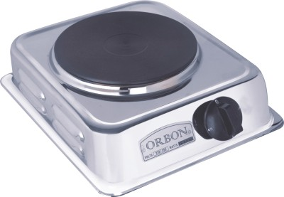 Orbon 1500 Watt Hot Plate Silver Electric Cooking Heater(1 Burner)