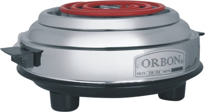 ORBON 1000 Watt G Coil Silver Dlx Round Electric Cooking Heater