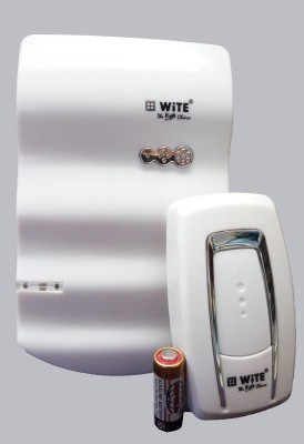 WiTE Waves White Model Wireless Door Chime