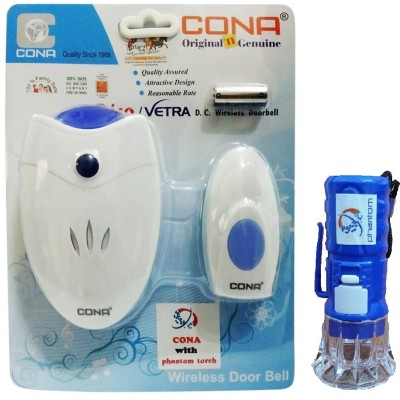 cona trico wireless remote bell & phantom torch Wireless Door Chime