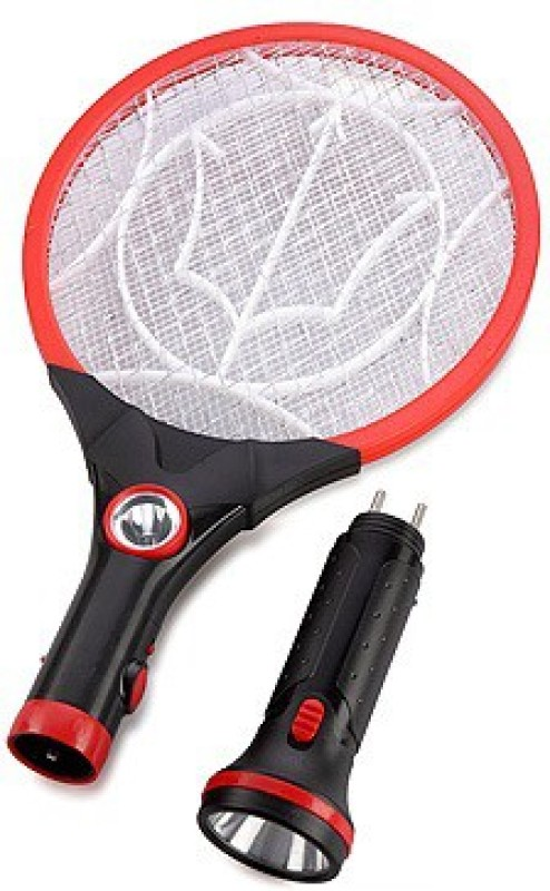 Teeta Rechargeable Mosquito Bat With Two Torches Electric Insect Killer(Bat)
