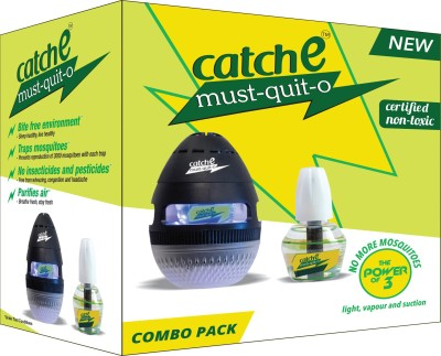 Catche must-quit-o Combo pack Electric Insect Killer