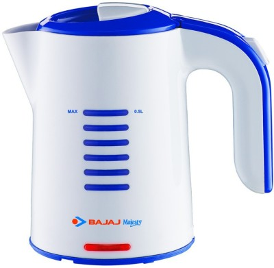 Bajaj majesty travel kettlektx1 Electric Kettle(0.5 L, White)