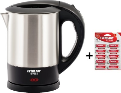 Eveready KET503 1 L Electric Kettle