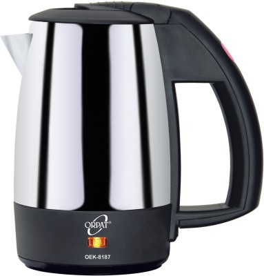 Orpat OEK-8187 Electric Kettle(0.5 L, Black)
