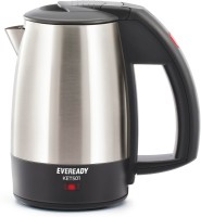 Eveready KET503 Electric Kettle(1 L, Black and Silver)