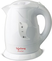 Lifelong Tea Time2 Electric Kettle(1 L, White)
