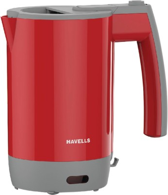 Havells Travel Lite Electric Kettle(0.5 L, Red)