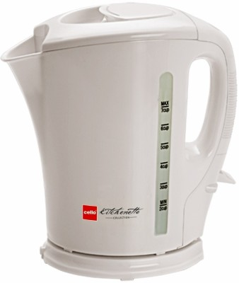 Cello Quick Boil 100 Electric Kettle(1.5 L, White)