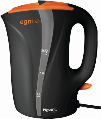 Pigeon Egnite PG Cord Electric Kettle(1 L, Multicolor)